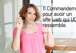 11 commandements pour votre site web-blogpost