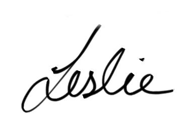 signature leslie