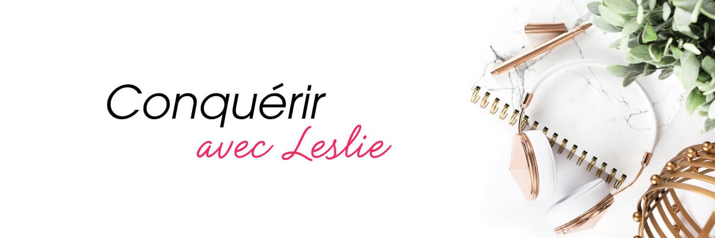 Conquérir avec Leslie